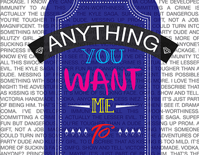 Anything You Want Me To - Book Cover