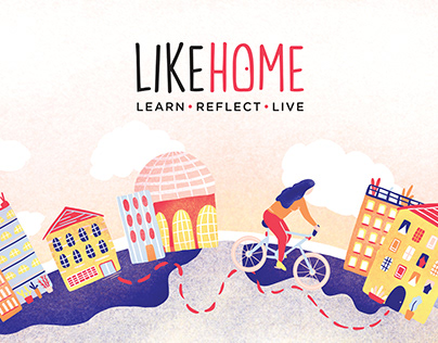LIKEHOME Book Design and Video - Thesis