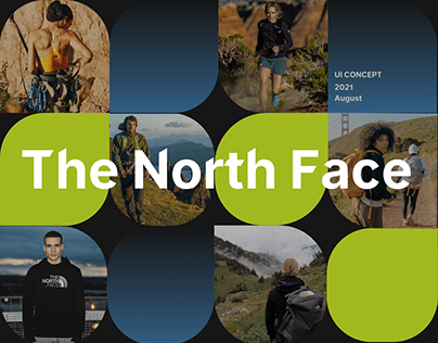 The North Face — redesign concept
