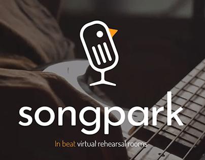 Songpark & Cantavi branding