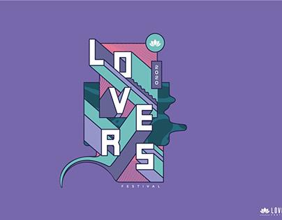"Animación gráficos ""Lovers Festival"""