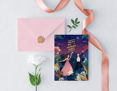 2018 Wedding Cards Design / Nai & Felica