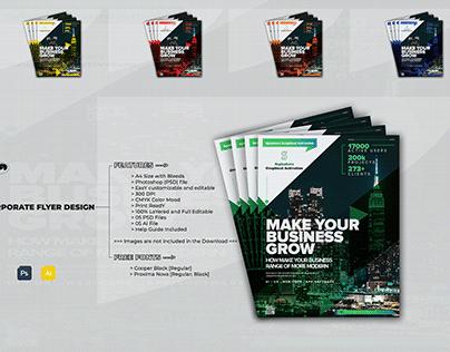 Corporate / CompanY / Business Flyer Design