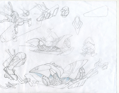 Concepts for combat and transport vehicles: Mision H2O
