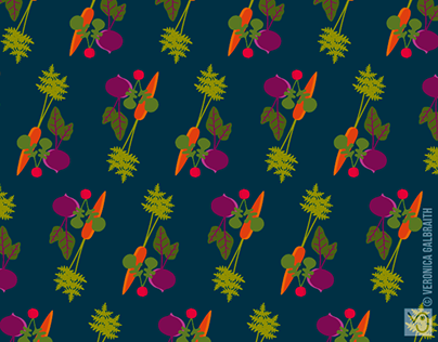 Vegetable Medley [Surface Pattern Design Collection]