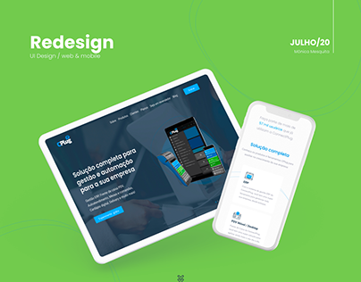 UI Design - website + mobile