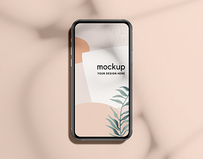 IPhone 12 Pro Free Mockup (PSD)