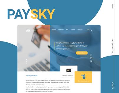 Paysky website
