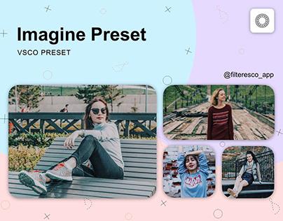 Imagine - VSCO Preset - Filteresco app