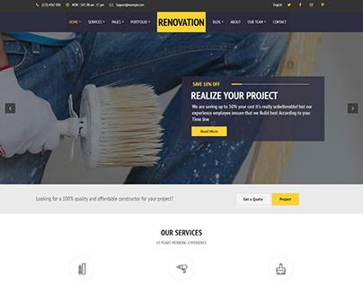 Construct - Construction Renovation WordPress theme