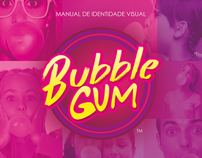 Identidade Visual Bubble Gum