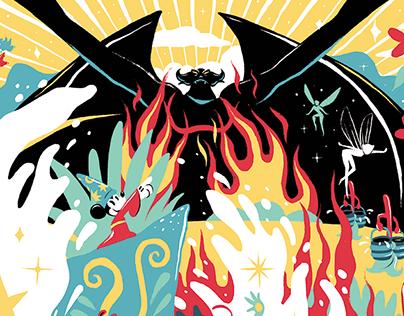 Fantasia / Shelf Heroes
