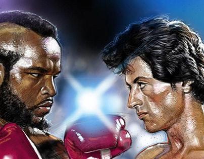Rocky vs Clubber Lang