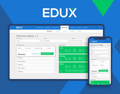 EduX Classes Reporting | UX and Interaction Design