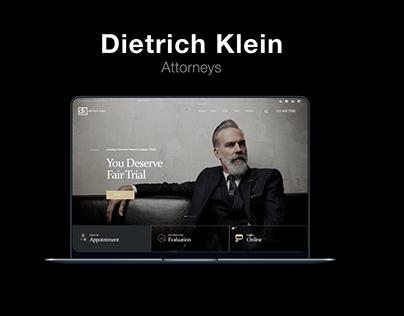 ATTORNEY - DIETRICH KLEIN