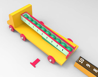 Subtraction Toy Truck