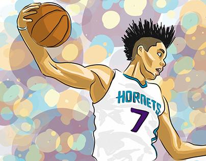 Charlotte Hornets Illustrations