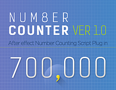 Number Counter - aeScript