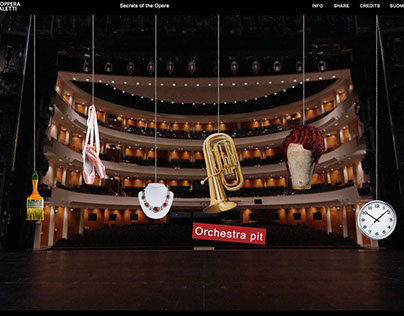 Interactive Documentary. Secrets of the Opera.