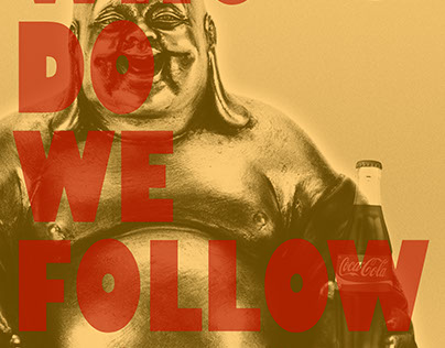 Who do we follow now? Poster Series