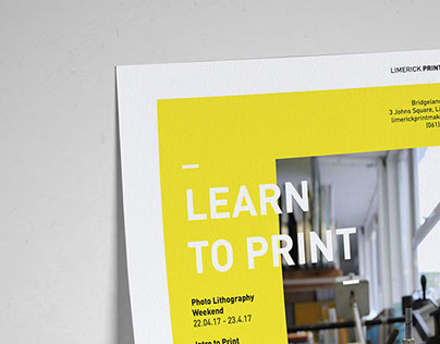 Limerick Printmakers Poster