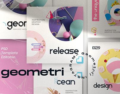 Geometri Brand Social Media Kit