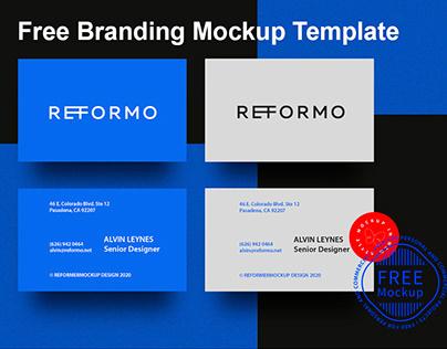 Free Branding Mockup Template