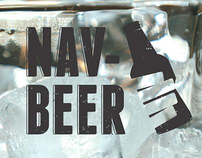 NAV BEER - Diseño para Serigrafia