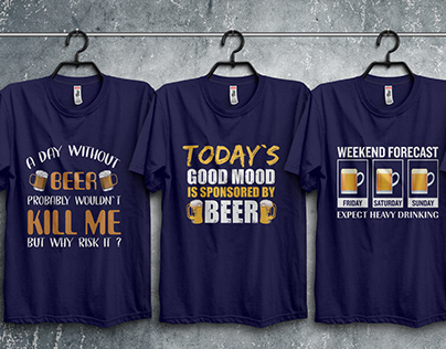 90 Best Beer T-Shirts Design Bundle​​​​​​​