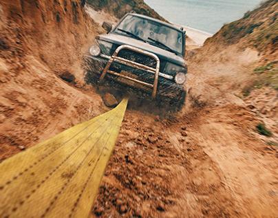 Jeep | Jeep ile çekildi.