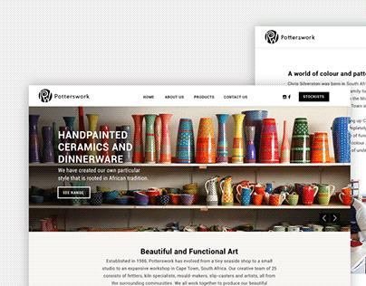 Potterswork Website Design & Development