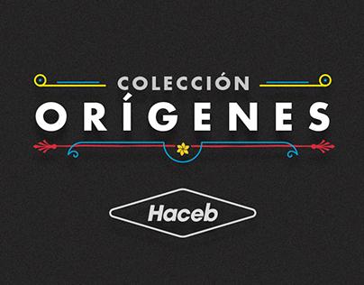 Colección Orígenes Haceb
