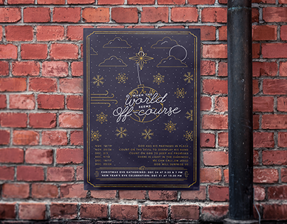 Christmas Branding for One Church, Toronto