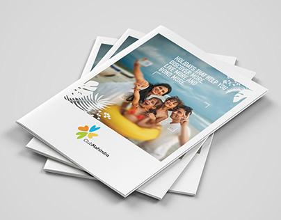 Club Mahindra : Brochure Design