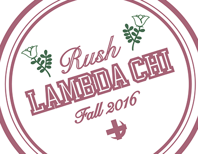 UC Lambda Chi Alpha Fall Rush 2016 Shirt