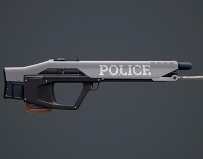 Cyberpunk 2077 Rifle.