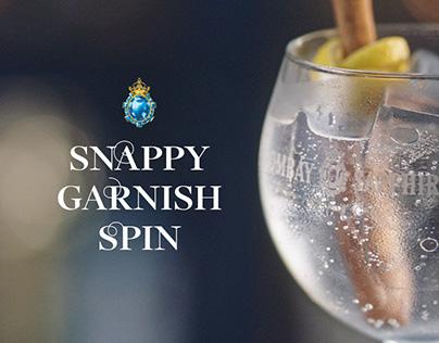Bombay Sapphire: Snappy Garnish Spin