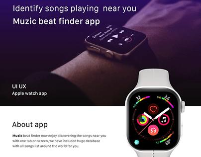 Apple wearable smart watch app UI UX