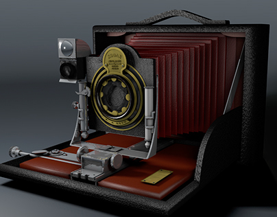 Cinema 4d Final Project - Film Camera