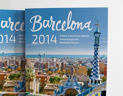 Barcelona itinerary - EIAA Brochure
