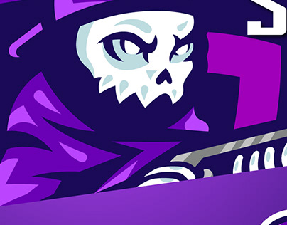 Skull eSports Mascot Logo | Sports Logo | Gaming Logo