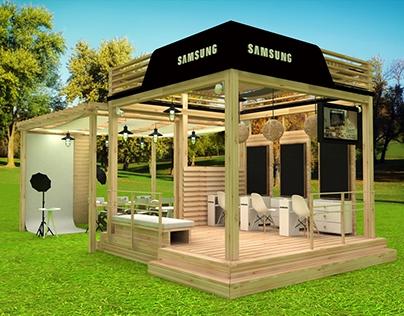 Propuesta stand Samsung Bazar ED 2016 / Surface