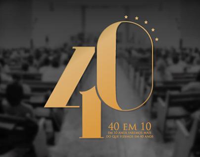 40 em 10 - Igreja do Nazareno de Mesquita