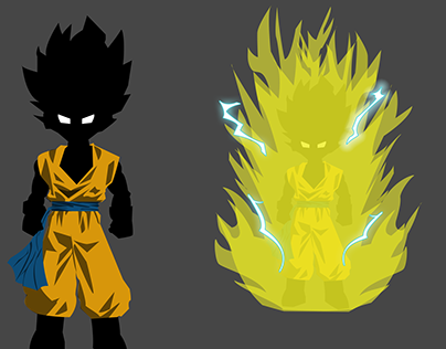 Fan Art - Dragon Ball - School Work
