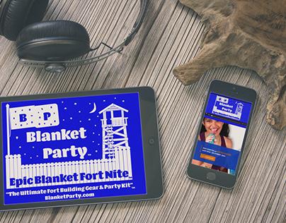 BlanketParty.com Website Design & Development