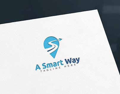 A Smart Way - Traveling - Logo Design