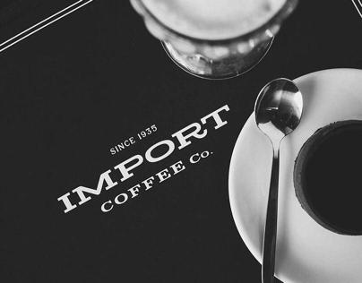 Import Coffee Co. :: Branding