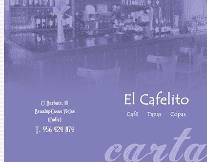 Carta 'El Cafelito'