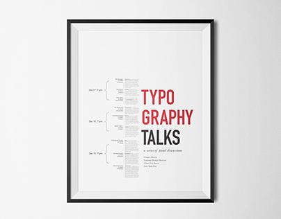 Typography Talks