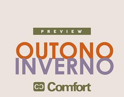 Preview Outono Inverno - Lojas Comfort